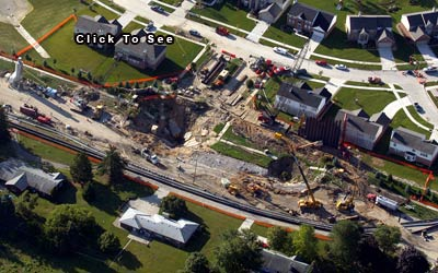 Sterling Heights Chrysler >> Aerial Photography by Don Coles, Great Lakes Aerial Photos, Construction
