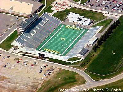 Aerial Photography By Don Coles Sport Stadiums Ford Field