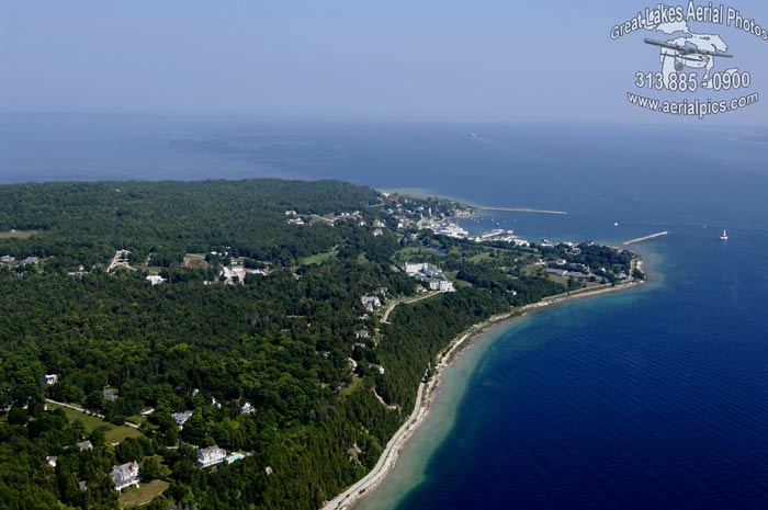 Download this Mackinac Island Looking Into Haldimand Bay And Lake Huron picture